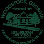 Preservation Woodstock Logo